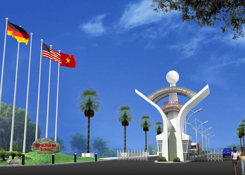 KCN Mỹ Xuân B1 - CONAC thị xã Phú Mỹ