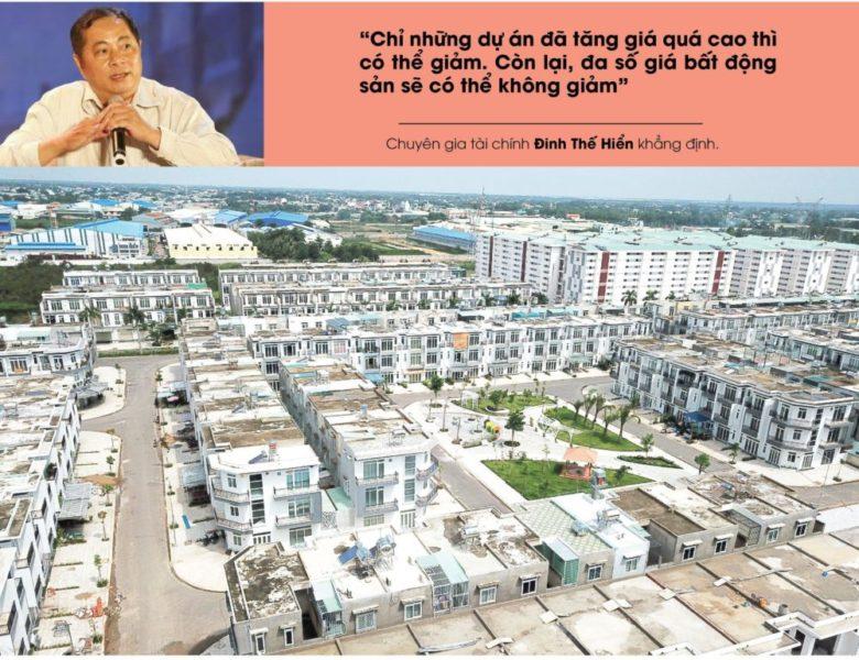 Chuyên gia khẳng định giá bất động sản sẽ rất khó giảm