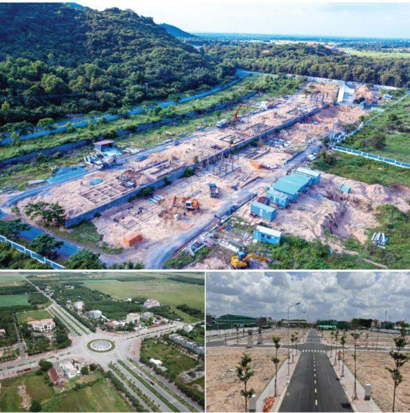 Các dự án mọc lên nhanh chóng ở các vùng lân cận TPHCM