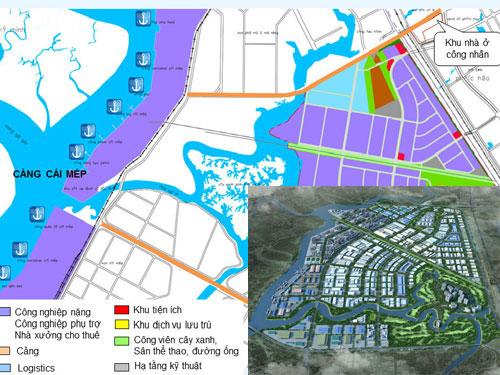 Quy hoạch tổng thể KCN Phú Mỹ 3