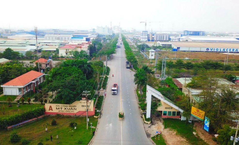 KCN Mỹ Xuân A thị xã Phú Mỹ