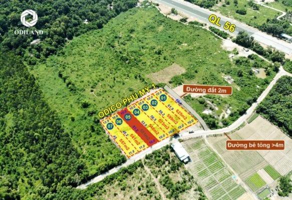 Đất nền Phú Mỹ hút khách bởi tính thanh khoản cao và tiềm năng tăng giá