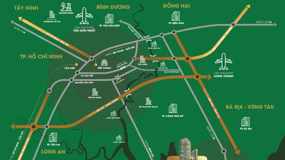 Đường cao tốc Biên Hòa - Vũng Tàu, một trong những hạng mục được đầu tư trọng điểm ở Bà Rịa - Vũng Tàu