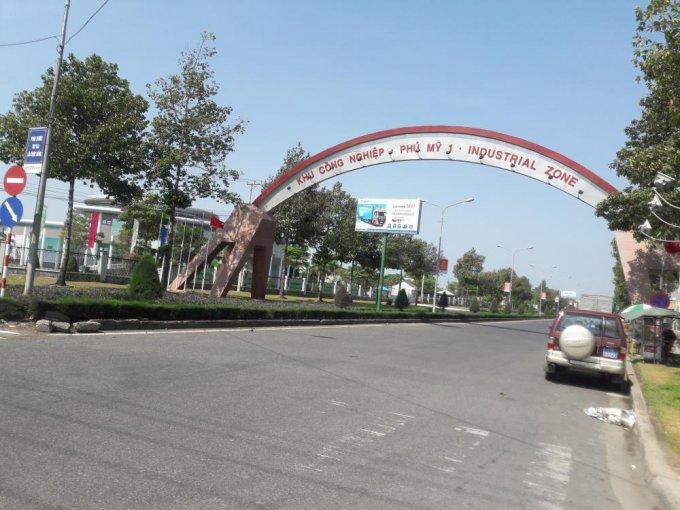 Cổng khu công nghiệp Phú Mỹ 1