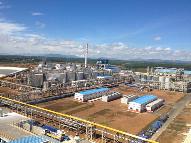 Một góc khu công nghiệp Cái Mép thị xã Phú Mỹ