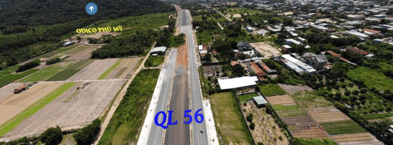 Quốc lộ 56, tuyến đường quan trọng bậc nhất trong khu quy hoạch đô thị trung tâm tỉnh Bà Rịa – Vũng Tàu trong tương lai
