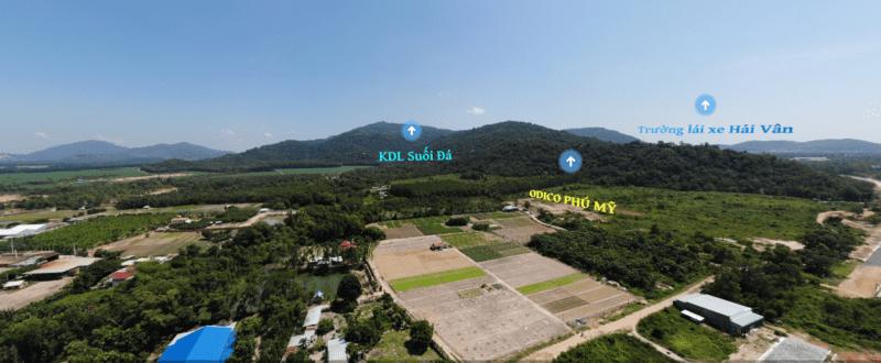 Toàn cảnh xã Tân Hải, thị xã Phú Mỹ - Nơi đầu tư đầy tiềm năng