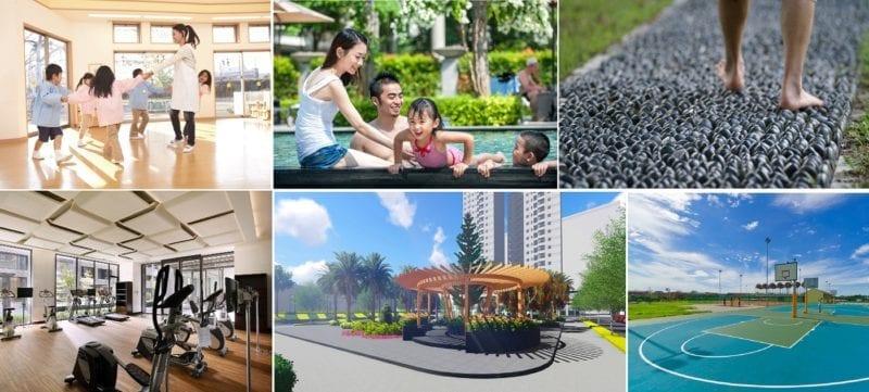 Các chủ đầu tư chú trọng phát triển tiện ích nội khu và ngoại khu