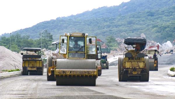 Quốc lộ 56, tuyến tránh TP Bà Rịa là một trong những dự án trọng điểm của tỉnh Bà Rịa - Vũng Tàu