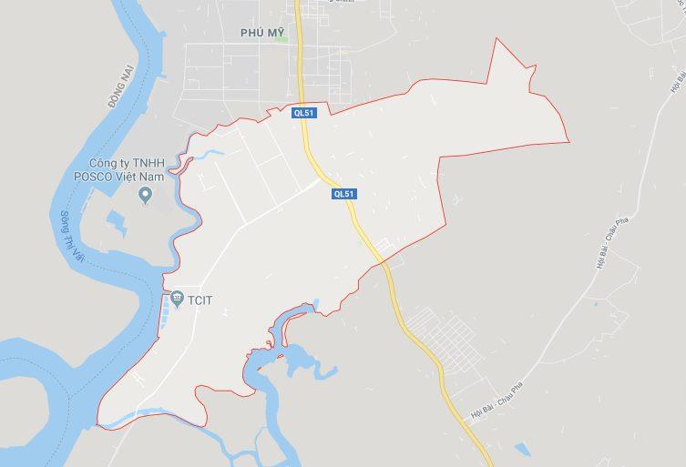 Vị trí địa lý của phường Tân Phước, thị xã Phú Mỹ (BRVT)