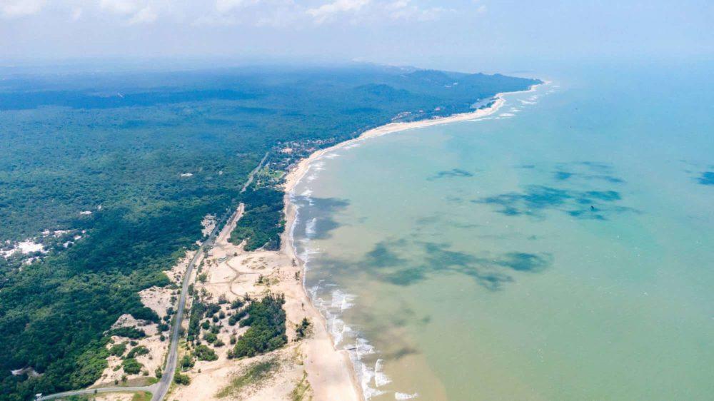 Vẻ đẹp của ven biển Hồ Tràm
