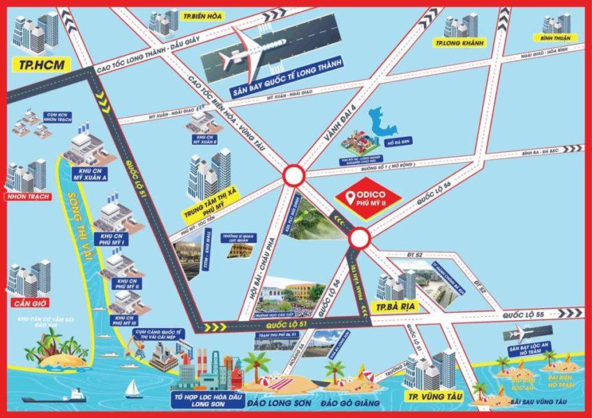 Hệ thống giao thông ở Phú Mỹ (Bà Rịa - Vũng Tàu)