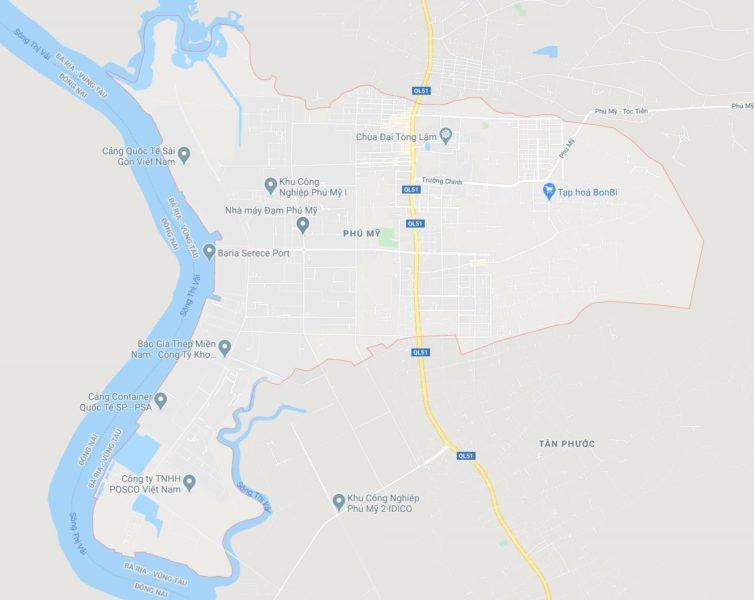 Phường Phú Mỹ, thị xã Phú Mỹ, tỉnh Bà Rịa Vũng Tàu