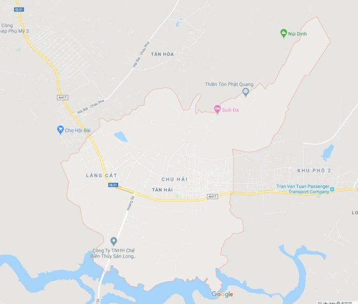 Xã Tân Hải, thị xã Phú Mỹ, tỉnh BRVT