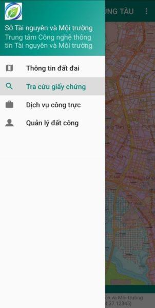 Tra cứu giấy chứng nhận trên app