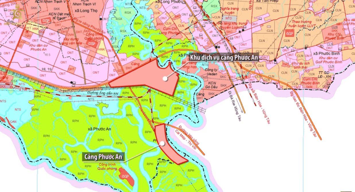 Cầu Phước An và khu dịch vụ cảng Phước An