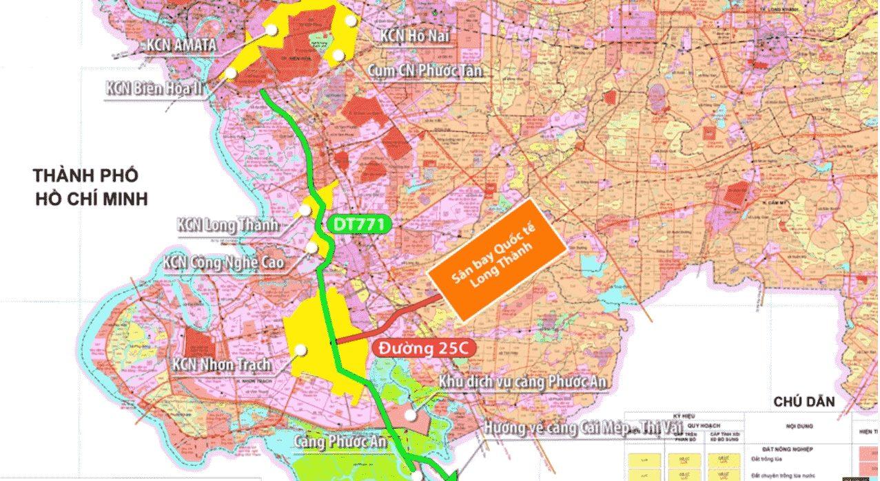 Hệ thống giao thông kết nối khu vực Đồng Nai và Bà Rịa Vũng Tàu